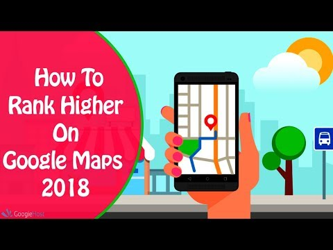How To Rank Higher On Google Maps Places | Google My Business SEO Trick 2018