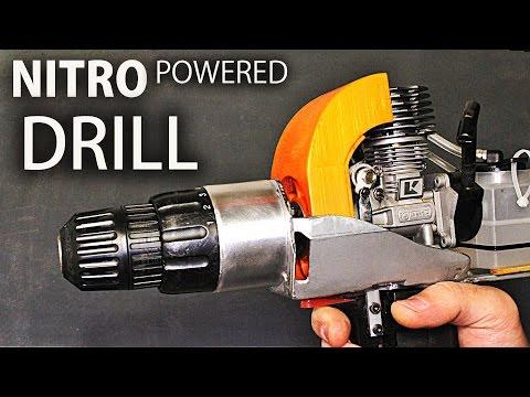 Nitro Engine Powered Drill