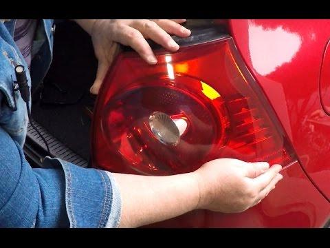 How to Replace a VW Rabbit Tail Light Brake Light Bulb