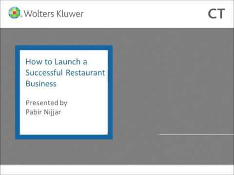How to Launch a Successful Restaurant Business