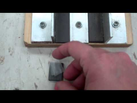 How to attach magnets