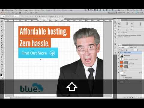 Design a Smart Series of Banner Ads in Photoshop: Designing the Banners