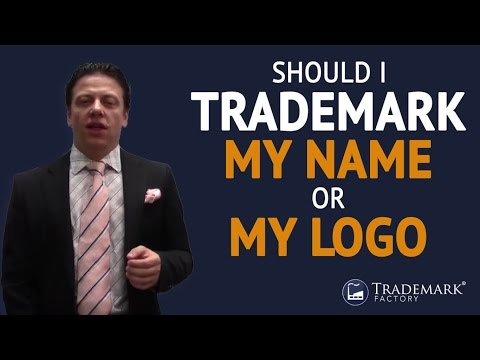 Should I Trademark My Name Or My Logo ?| Trademark Factory® FAQ