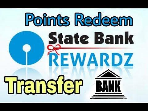 SBI Rewardz Redeem and transfer to bank account