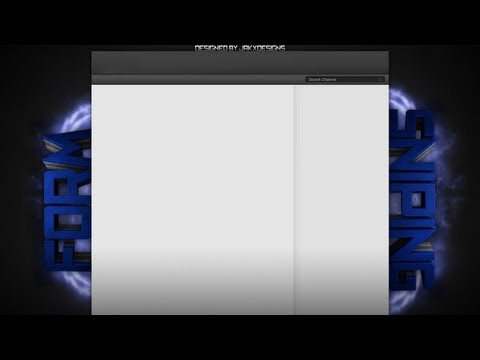 FormSniping YouTube Background - Speed Art