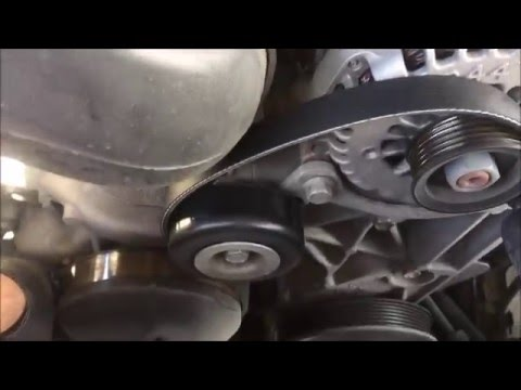 How to: 2007 Chevy Tahoe 5.3L Serpetine and A/C Belt Replacement
