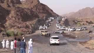 Arab Youngsters Drifting Cars Near Hatta (uae).