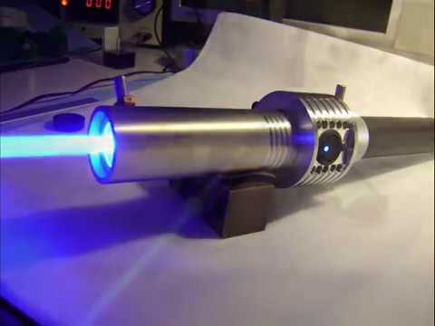 🔴 Worlds most powerful visible handheld laser / 7.3W Triple Diode Array (7,300mW)