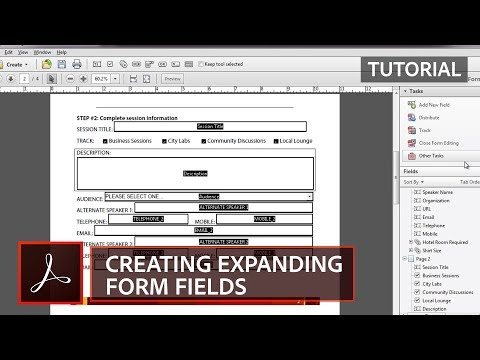 Creating Expanding Form Fields