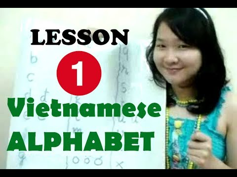 Vietnamese for Beginners - Lesson 1 (Easy & Fast Way to Learn the Viet Alphabet)