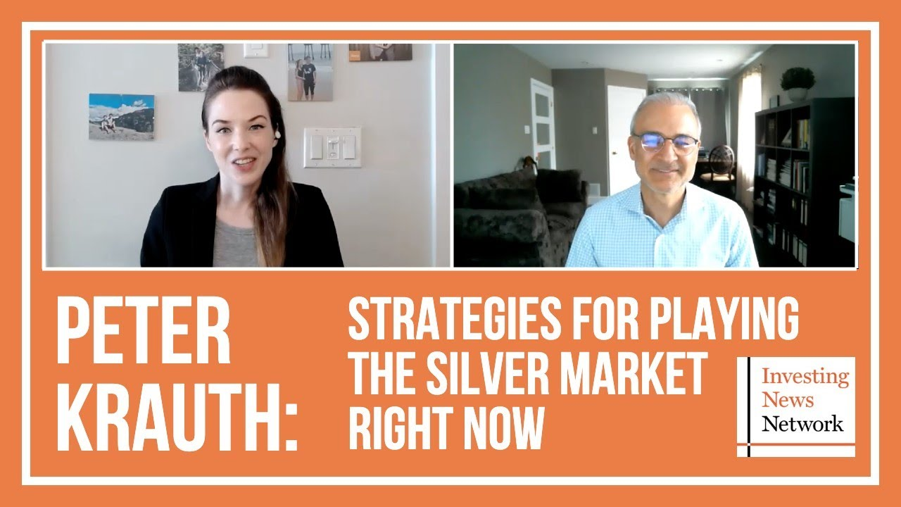 Peter Krauth: Strategies for Playing the Silver Market Right Now
