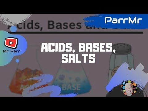 Acids, Bases, Salts Song