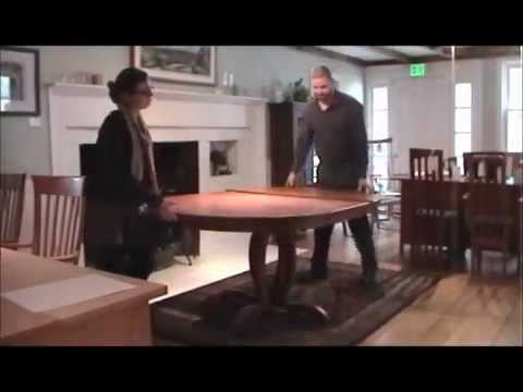 Vermont Made Cherry Blossom Pedestal Table