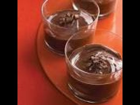 10 Minute Flourless Chocolate Pudding