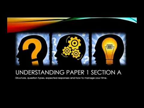 Understanding section A of Paper 1 (Edexcel 9-1 GCSE English Lang)
