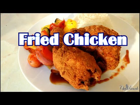 Fried Chicken With Breadcrumbs Thanksgiving Day Fried Chicken | Recipes By Chef Ricardo