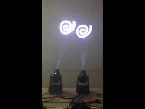 mini 15w moving head light