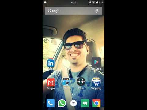 Lock screen wallpaper Cyanogenmod 12
