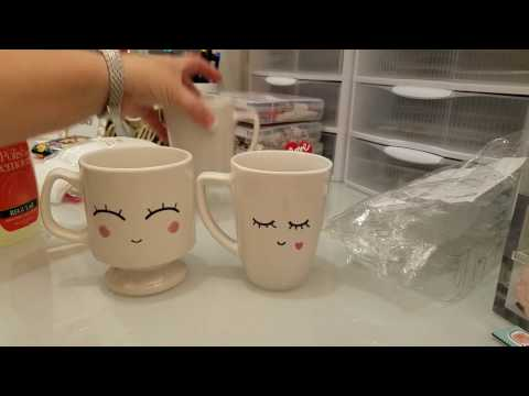 DIY Cute Face Coffee Mug;)