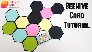Beehive card Tutorial by Srushti Patil