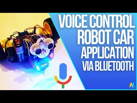 Arduino Project - Voice Controlled Robot (Bluetooth and Smartphone) With Source Code