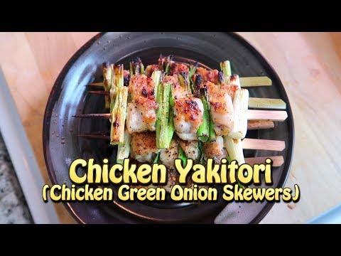 Dry Rub Yakitori Chicken Skewers - Silent Cooking Vlog #2