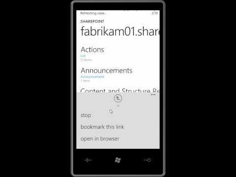 Microsoft Sharepoint 2010   Update an Access database from SharePoint Online. www.windowstechet.com