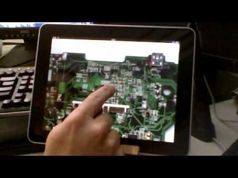 BoardTracer html5 app on iPad