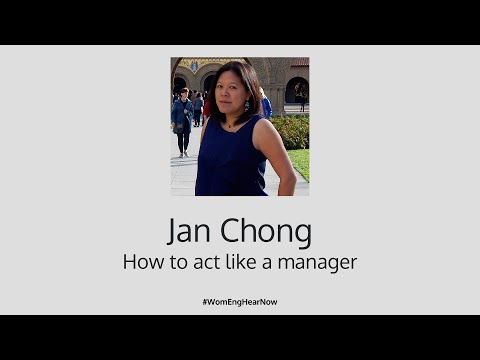 Square WomEng Hear + Now: How to act like a manager by Jan Chong