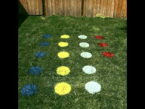 Zillow #HomemadeHack: Make a life size game board on your lawn
