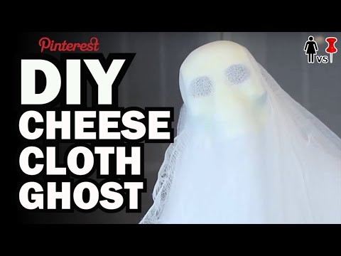DIY Cheese Cloth Ghost, CORINNE VS PIN #16