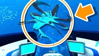 A REAPER LEVIATHAN SIGHTING!!!! (Subnautica #5)