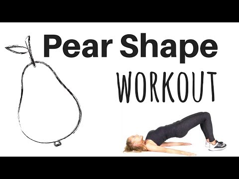 PEAR SHAPE WORKOUT - LOWER BODY EXERCISE REAL TIME ROUTINE -Tone your thighs & booty & burn calories