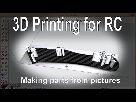 (7/7) 3D Printing for RC: Making replacement RC parts