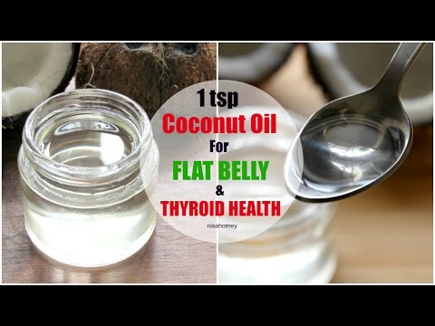 Eat 1 Tsp COCONUT Oil A Day And Nourish Your Thyroid Naturally - Coconut Oil For Weight Loss