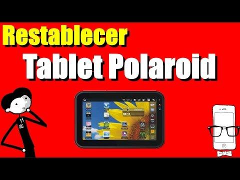 Restablecer Tablet Polaroid con contraseña en unos sencillos pasos