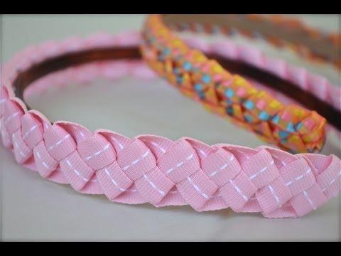 How to make ribbon headbands for little girls | Nik Scott