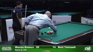 Match 2 Warren Kiamco Vs Matt Tetreault