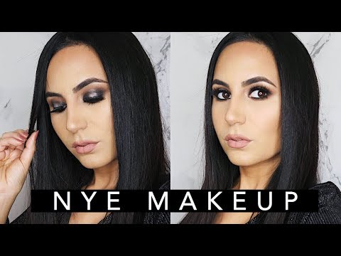 NEW YEARS EVE Metallic Smoky Eye + Outfit | Elle Levi