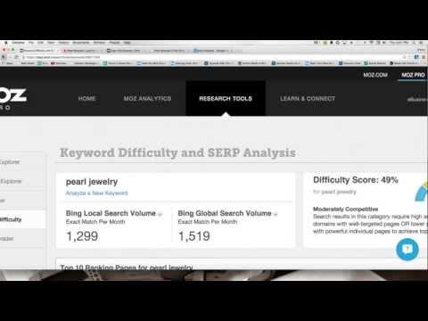 Page Authority, Domain Authority, & OpenSiteExplorer.com