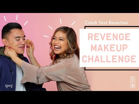 We Did Our Husband's Makeup   Crash Test Beauties