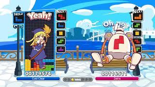 Cold Clear vs Zetris #51 - Puyo Puyo Tetris AI vs AI