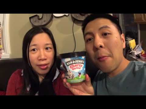 JSAdventure #288 - Trying Out Ben & Jerry's Cherry Garcia Ice Cream (中英字幕)