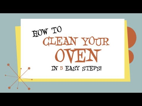 How to clean an oven properly
