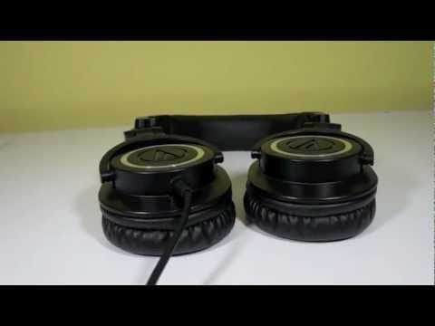 Audio-Technica ATH-M50 Headphones Overview