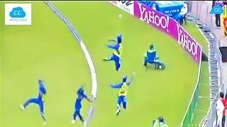 Best Fielding in the Cricket History - Acrobatic Fielding !!  (Please Comment ur favorite)