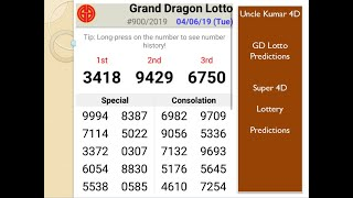 Gd Lotto 4d