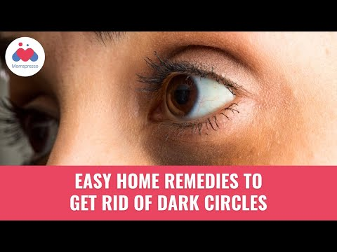 5 easy home remedies for dark circles