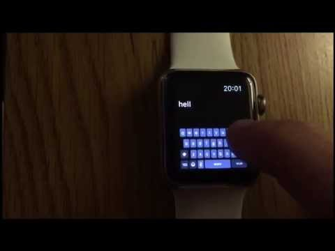 Fully Working Keyboard on Apple Watch