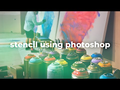Layered Stencil using Photoshop | Tutorial